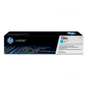 Картридж HP 126A (CE311A) голубой (аналог)