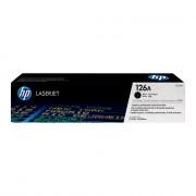 Картридж HP 126A (CE310A) чёрный (аналог)